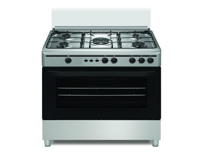 Cocina de gas 5 quemadores vitrokitchen cb9060ib worten for Quemadores de cocina de gas butano