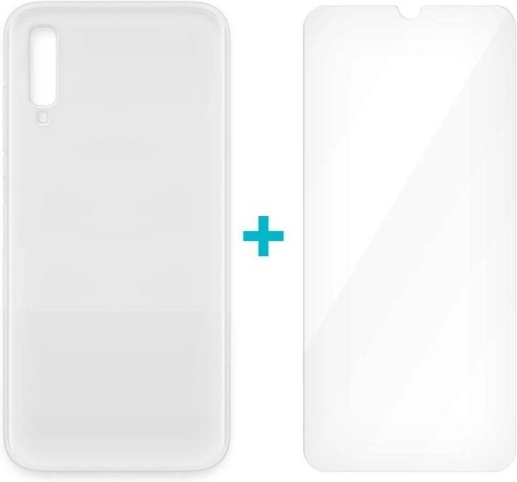 Carcasa-y-Protector-de-Cristal-Templado-Samsung-Galaxy-A70-4-OK-Glass-DUO-Trans