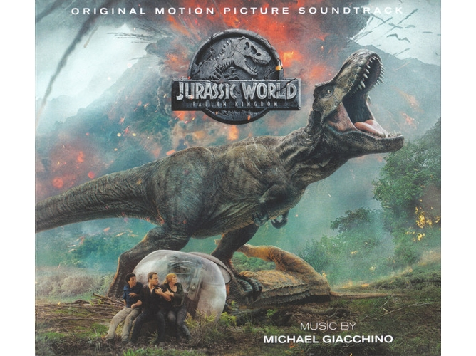 CD Michael Giacchino - Jurassic World: Fallen Kingdom (Original Motion Picture Soundtrack)