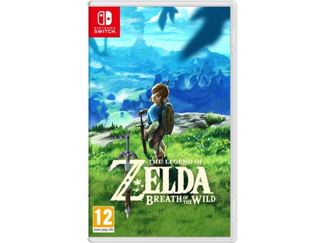 Nintendo Switch Legend Of Zelda Breath Of The Wild Worten
