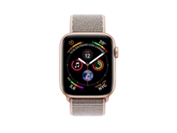 APPLE Watch S4 GPS (LTE) 40 mm Aluminio en Oro y Correa Loop Deportiva Rosa Arena