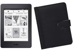 E-Book KINDLE Paperwhite 4 GB + Funda Negra