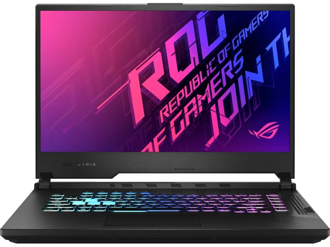 Portátil Gaming ASUS ROG Strix G512LV-HN037T (Intel Core i7-10750H - NVIDIA GeForce RTX 2060 - RAM: 16 GB - 512 GB SSD PCIe - 15'') — Windows 10 Home