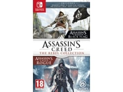 Preventa Juego Switch Assassin's Creed: The Rebel Collection (Acción - M18) — Fecha de Lanzamiento: 6 de dicembre de 2019