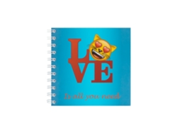 Cuaderno 14X14 Wiro Cat Love