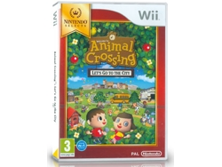 Wii Animal Crossing: Let's Go To The City City Folk