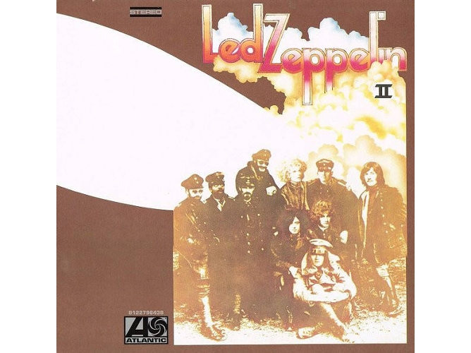 Resultado de imagen de led zeppelin ii album covers