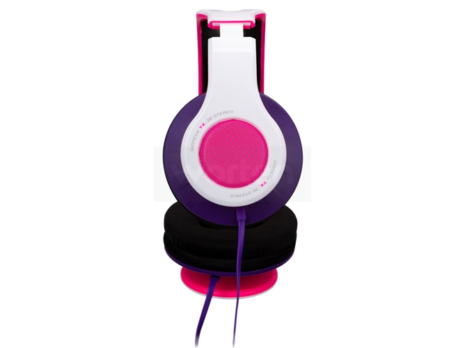 Auriculares gaming GIOTECK TX-30 rosa — Compatibilidad: PS4 / Xbox One / PC / MAC