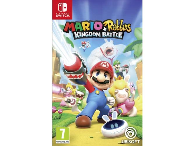 Juego Nintendo Switch Mario Rabbids Kingdom Battle Worten