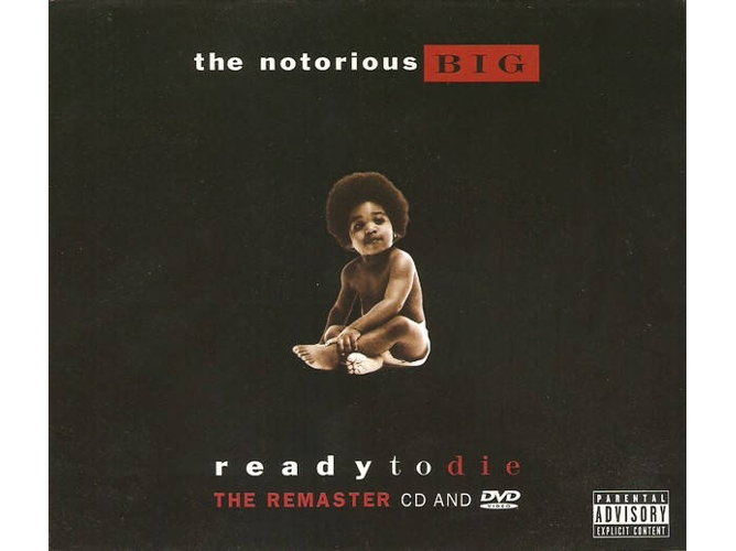 CD + DVD Notorious B.I.G. - Ready To Die The Remaster CD And DVD