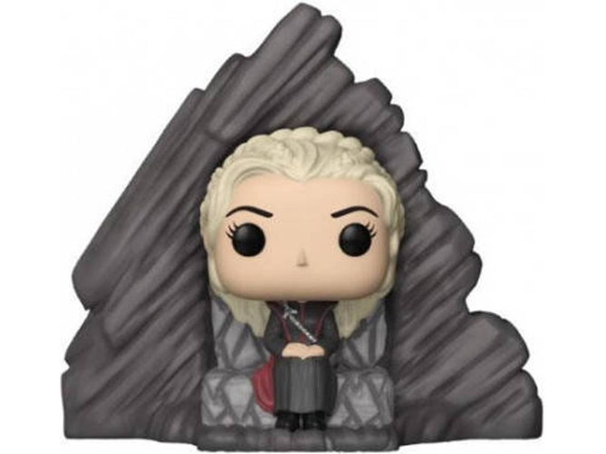 Figura Vinilo FUNKO POP! Juego de Tronos: Daenerys on Dragonstone Throne