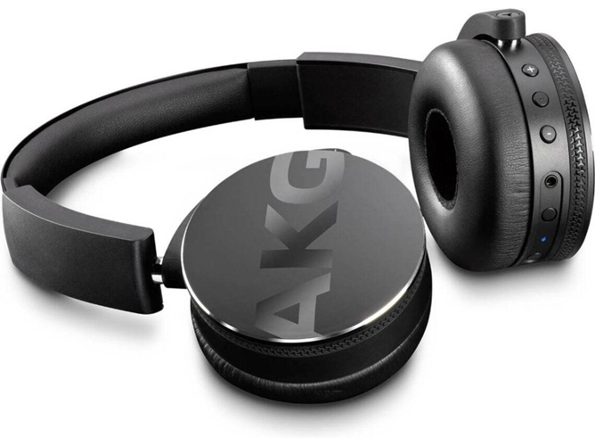 Auriculares Bluetooth AKG Y50BT (On Ear - Micrófono - Negro)