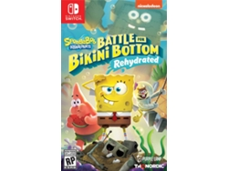 Preventa Juego Nintendo Switch SpongeBob SquarePants: Battle for Bikini Bottom – Rehydrated — Fecha de lanzamiento: 2020