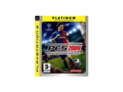Juego PS3 PES 2009 Pro Evolution Soccer: Platinum  Edition