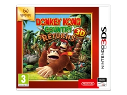 3DS Donkey Kong Country Returns Selects