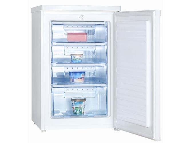 Congelador kunft 100a worten for Congelador vertical pequeno