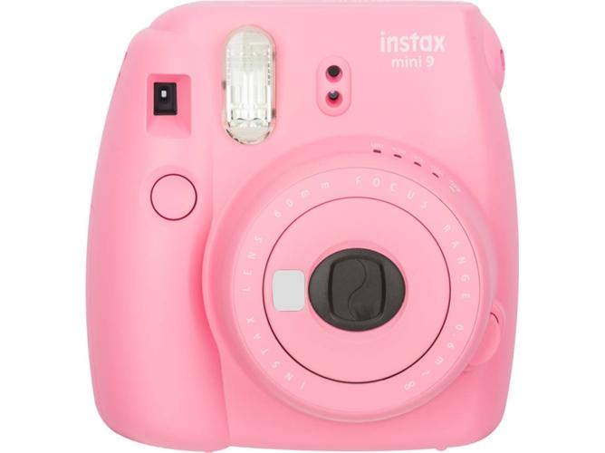 8836dedfb0 Cámara Instantánea FUJIFILM Instax Mini 9 (Flamingo Pink - Obturación: 1/60  s - 2 Pilas LR6/AA - 62x46mm)