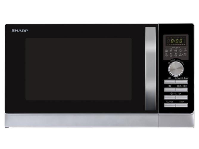Microondas sharp r843inw 25 l con horno y grill inox - Horno microondas pequeno ...