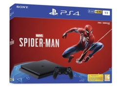 Consola PS4 Slim 1TB + Marvel´s Spider-Man