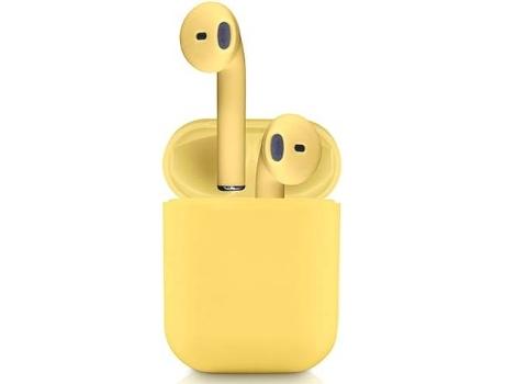 Auriculares Bluetooth True Wireless KLACK InPods 12 (In Ear - Amarillo)