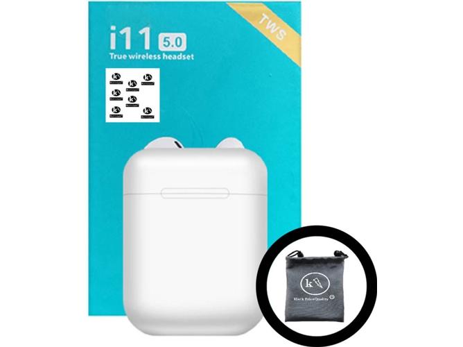 Auriculares Bluetooth True Wireless KLACK I11 (In Ear)