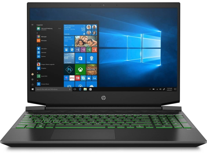 Portátil Gaming HP Pavilion 15-EC0010NS (15.6'' - AMD Ryzen 5 3550H - RAM: 8 GB - 512 GB SSD PCIe - NVIDIA GeForce GTX 1650) — Windows 10 Home