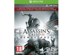 Juego XBOX ONE Assassin's Creed III (Remastered - M18)