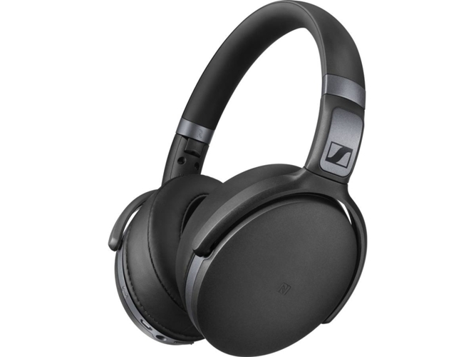Auriculares Bluetooth SENNHEISER HD 4.40 (Over ear - Micrófono - Negro)