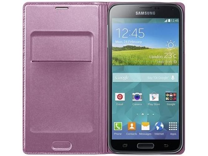 bfb942c55e6 Funda SAMSUNG Flip Galaxy S5 verde - WORTEN