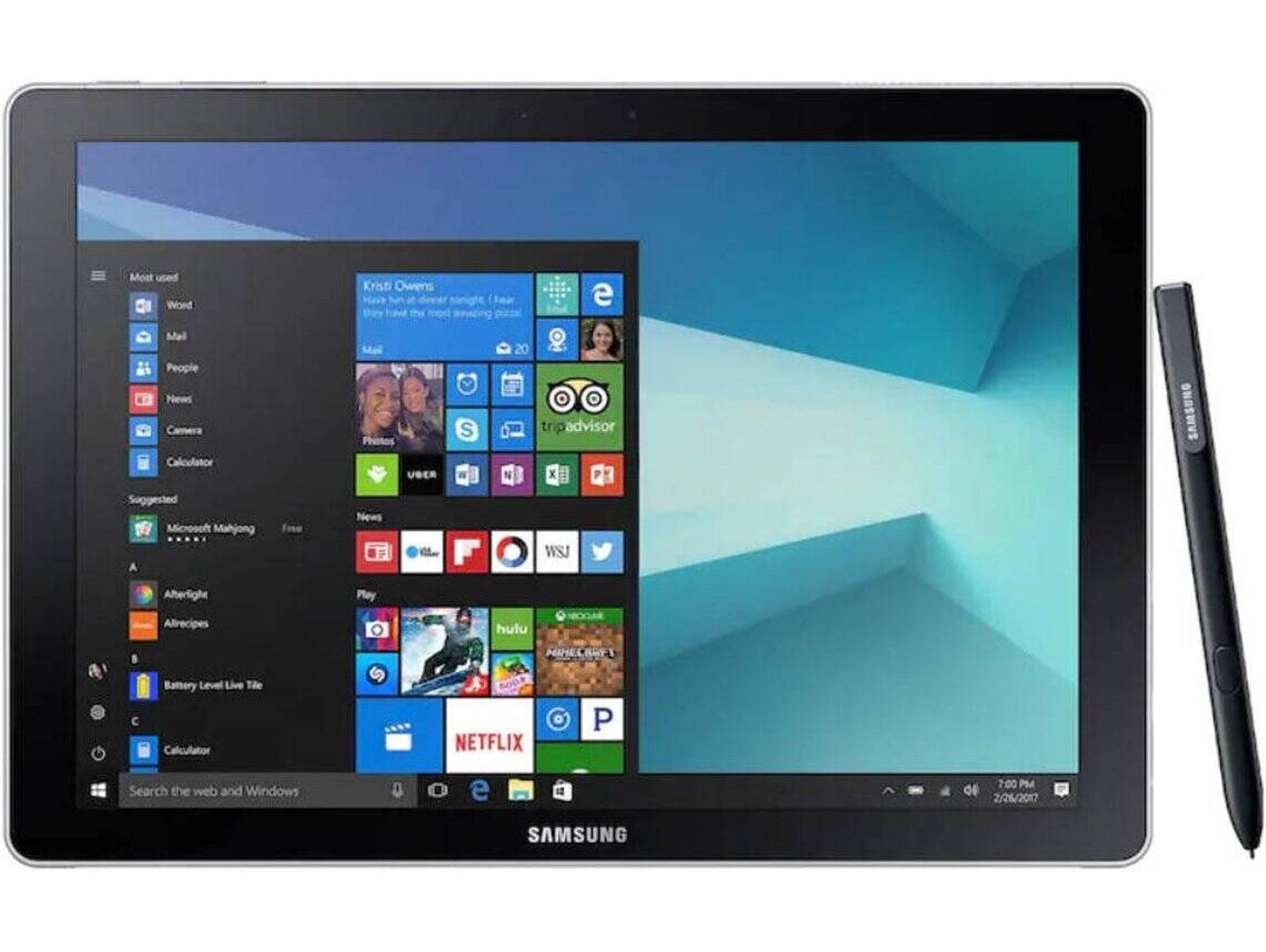 Tablet SAMSUNG Galaxy Book (12'' 128 GB 4 GB RAM Wi Fi Plata)