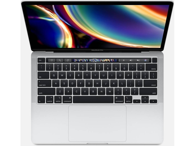 MacBook Pro 2020 APPLE Plata - MXK62Y/A (13.3'' - Intel Core i5 - RAM: 8 GB - 256 GB SSD - Intel Iris Plus Graphics 645)