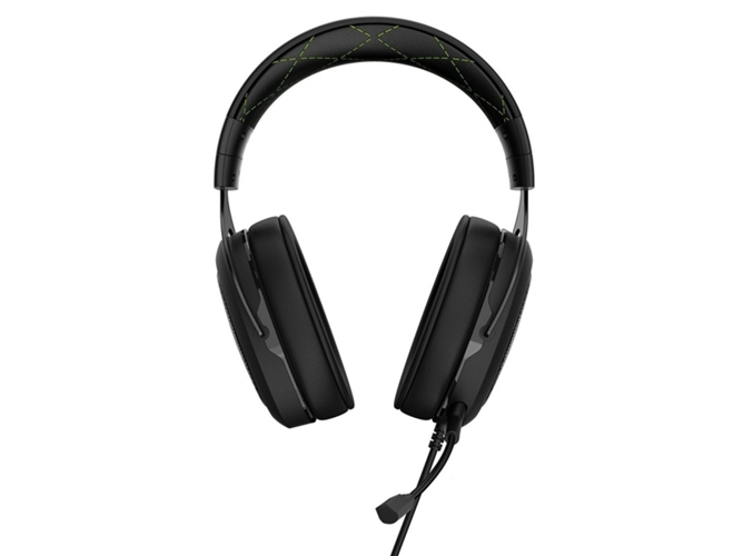 Auriculares CORSAIR HS50 Stereo Negro/Verde