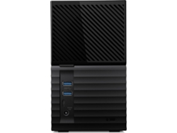 Disco HDD Externo WESTERN DIGITAL My Book Duo (Negro - 16 TB - USB 3.0) — 16 TB | USB 3.1