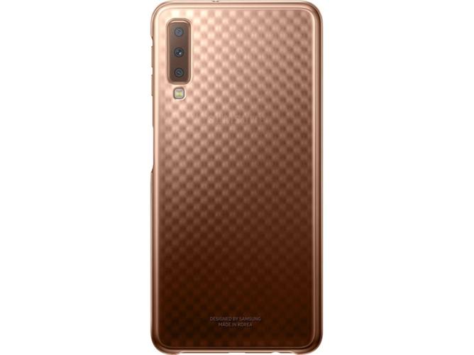 f02b2147f61 Carcasa SAMSUNG Galaxy A7 Gradiente Dorado - WORTEN