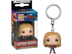 Figura FUNKO Pop Keychains Marvel Captain Marvel Unmasked