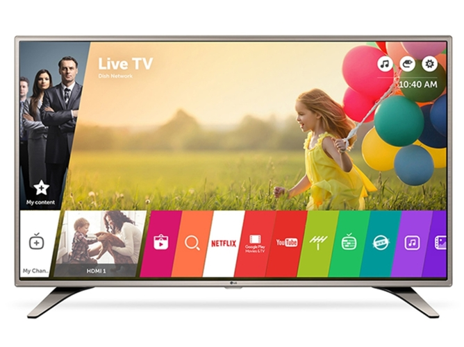 TV LED Smart TV 43'' LG 43LH615V - FHD