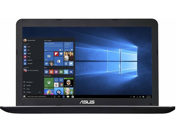Portátil ASUS X555QG-XO483T - 90NB0D42-M06710 (15.6'' - AMD A12-9720P - RAM: 8 GB - 256 GB SSD - AMD Radeon R5 M430) — Windows 10 Home | HD