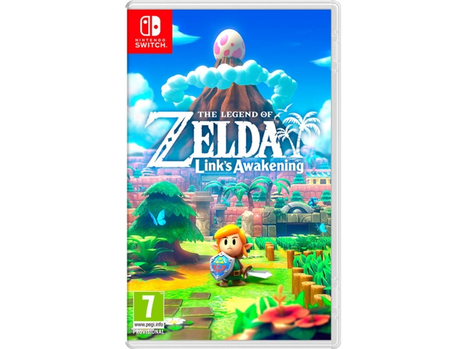 Juego Nintendo Switch The Legend Of Zelda: Link's Awakening: Remake (Estrategia - M7)