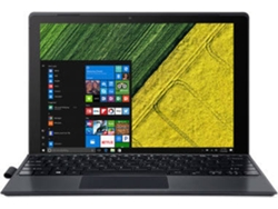 Portátil Convertible 2 en 1 - 12'' ACER Switch 5 SW512-52P - NT.LDTEB.006 (i3, RAM: 8 GB, Disco duro: 256 GB SSD)