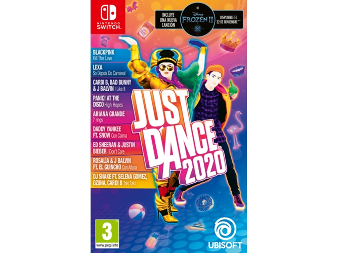 Juego Nintendo Switch Just Dance 2020 (Danza - M3)