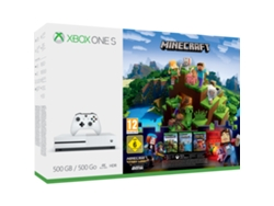 Xbox One S 500 GB + Minecraft Story Mode