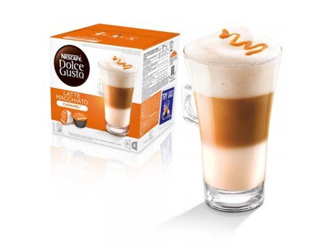 C psulas de caf nescaf dolce gusto caramel latte for Capsulas dolce gusto baratas