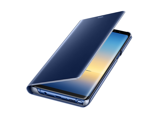 Funda SAMSUNG Galaxy Note 8 Clear View Azul — Compatibilidad: Samsung Galaxy Note 8