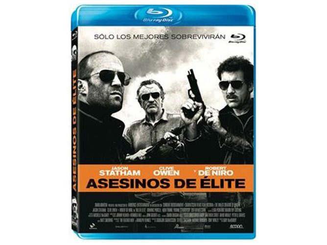 Blu-Ray Assessinos de Élite