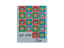 Carpeta  Mono We Are One