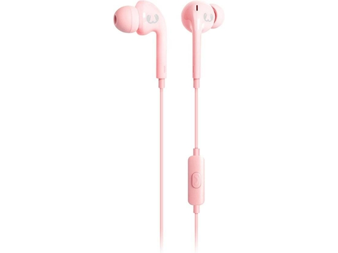 Auriculares con cable FRESH & REBEL Vibe (In ear - Micrófono - Rosa) — In Ear | Micrófono | Responde llamadas