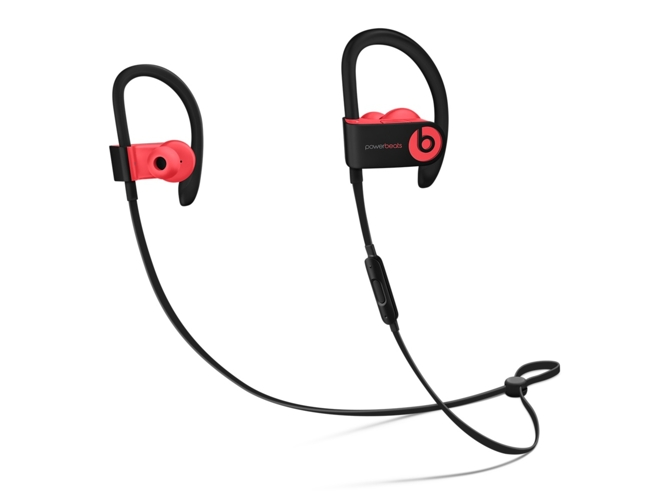 Auriculares Bluetooth BEATS Powerbeats 3 (In ear - Micrófono - Noise canceling - Atiende llamadas - Rojo)