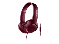 Auriculares con cable PHILIPS Bass+ en negro