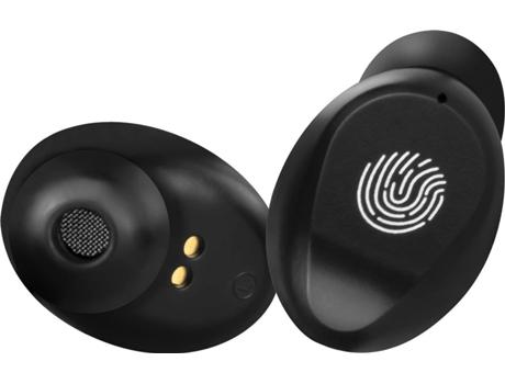 Auriculares Bluetooth + Powerbank 2000 mAh AGD TWS-190 (In Ear - Negro )