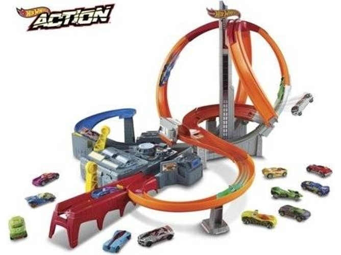 Pista de Coches HOT WHEELS CDL45 (Multicolor)